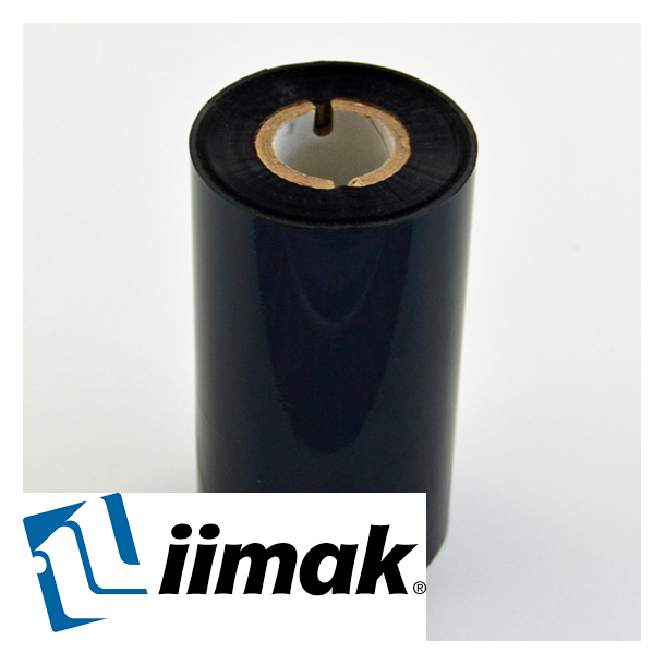 TTR fargebånd til etikettskriver 110 mm x 300 m Wax