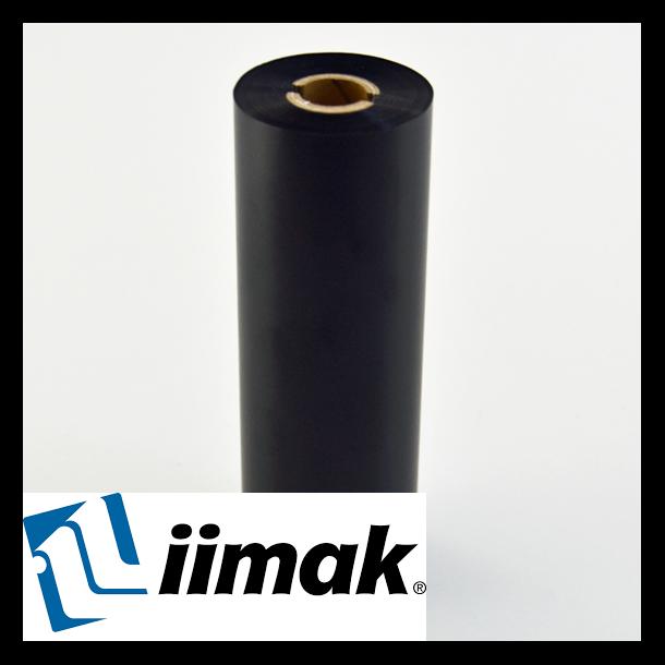 TTR fargebånd til etikettskriver 110 mm x 74 m Resin