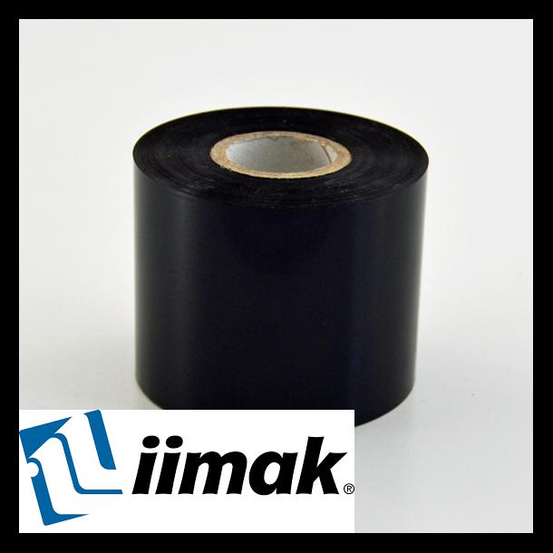 TTR fargebånd til etikettskriver 64 mm x 300 m Resin