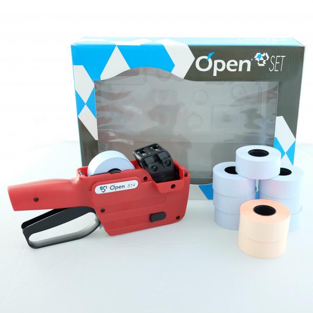 Pakketilbud prismaskin med 2 linjer, Open S14
