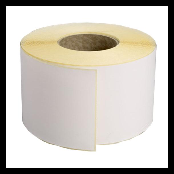 Thermo etikett på rull (fraktetikett), 102x192 mm, perm. lim
