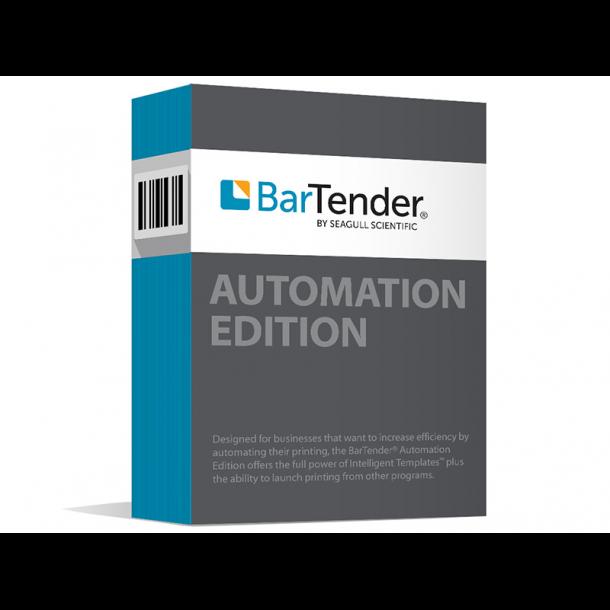 BarTender Automation - 3 skrivere
