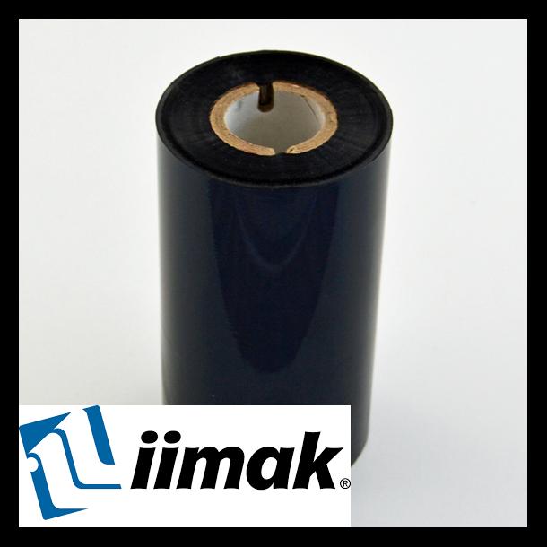 TTR fargebånd til etikettskriver 110 mm x 300 m Resin